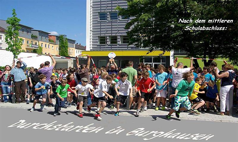 Durchstarten in Burghausen; Foto Martin Gleixner