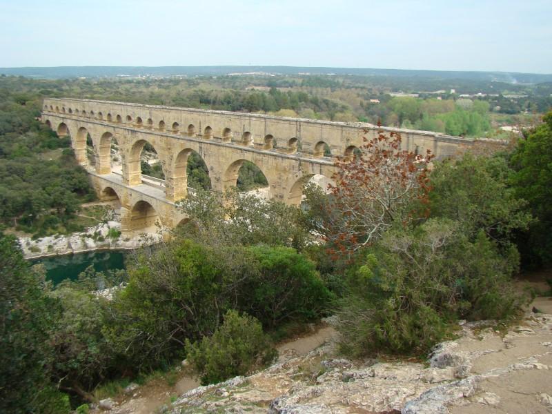Pont Du Gard; Foto Anke Möbus