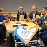 OMV Und Sparda-Bank Unterstützen Das Aventinus-Gymnasium Bei Der Anschaffung Von Schüler-iPads