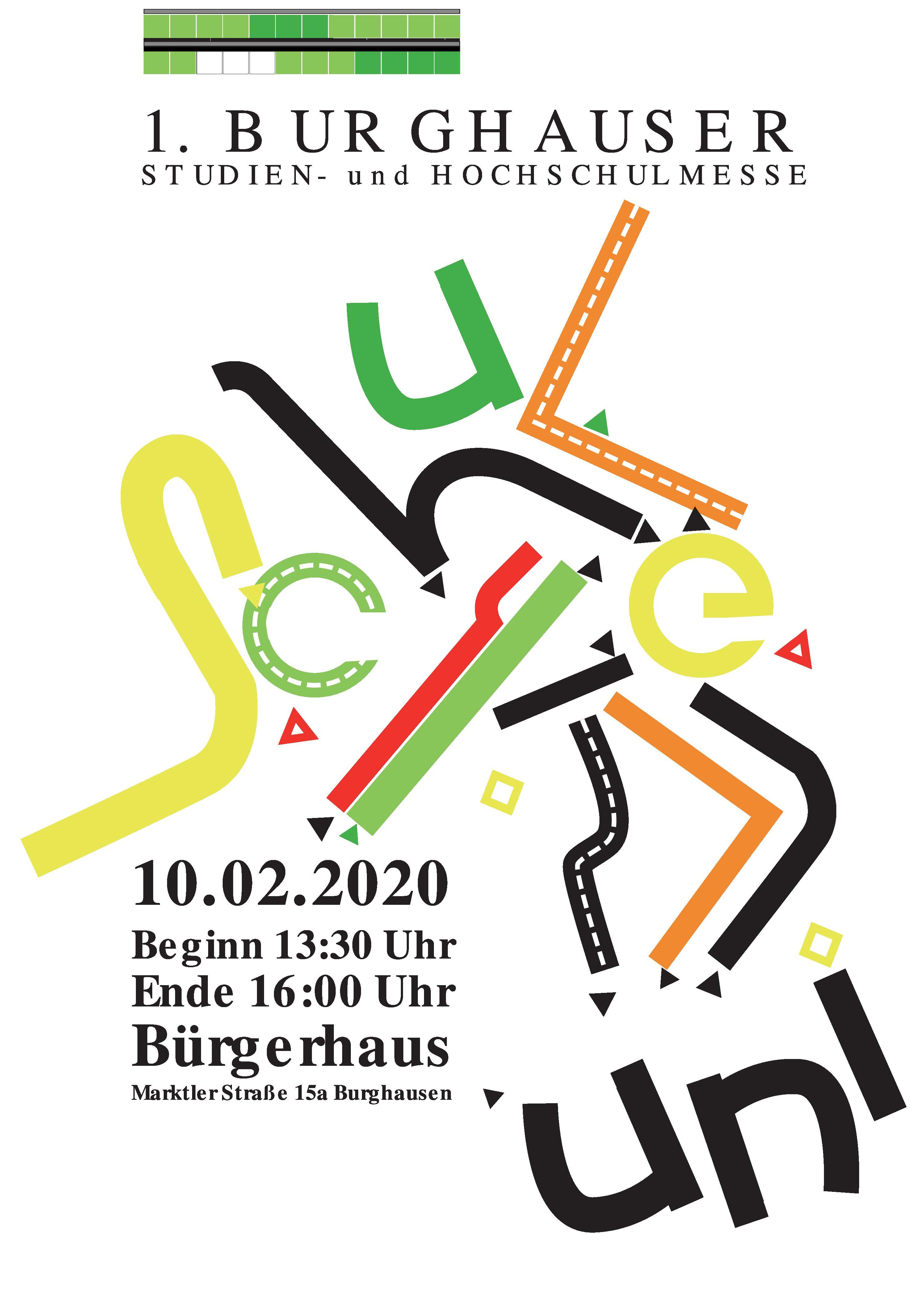1. BURGHAUSER STUDIEN- Und HOCHSCHULMESSE
