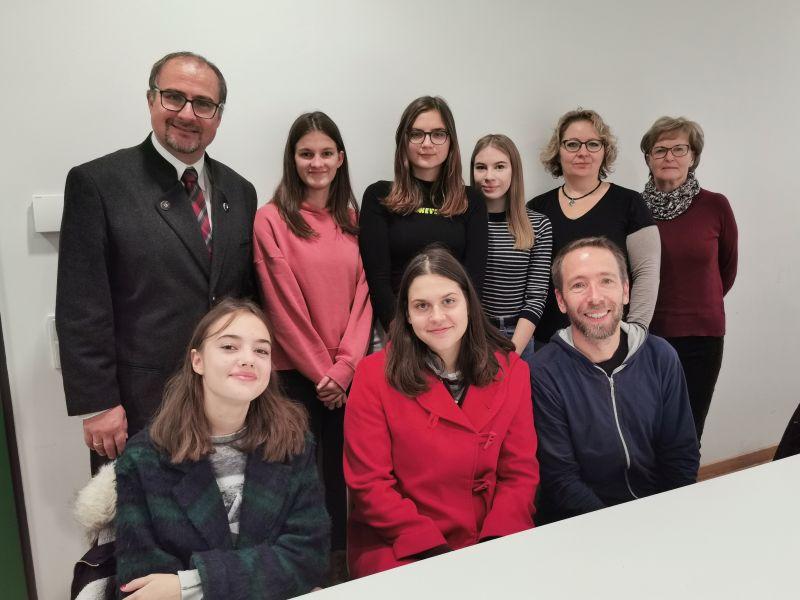 Slowenischer Besuch Am AVG