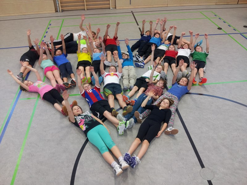 Sport 5. Klasse; Foto Markus Böhner