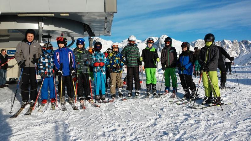 Super-Ski-Truppe; Foto Wolfgang Oberbauer