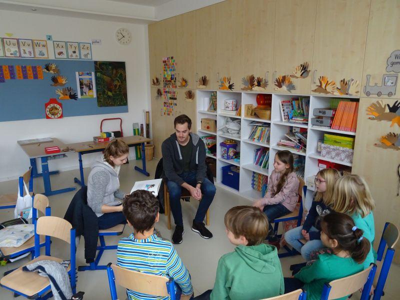 Vorlesetag Für Die Grundschule